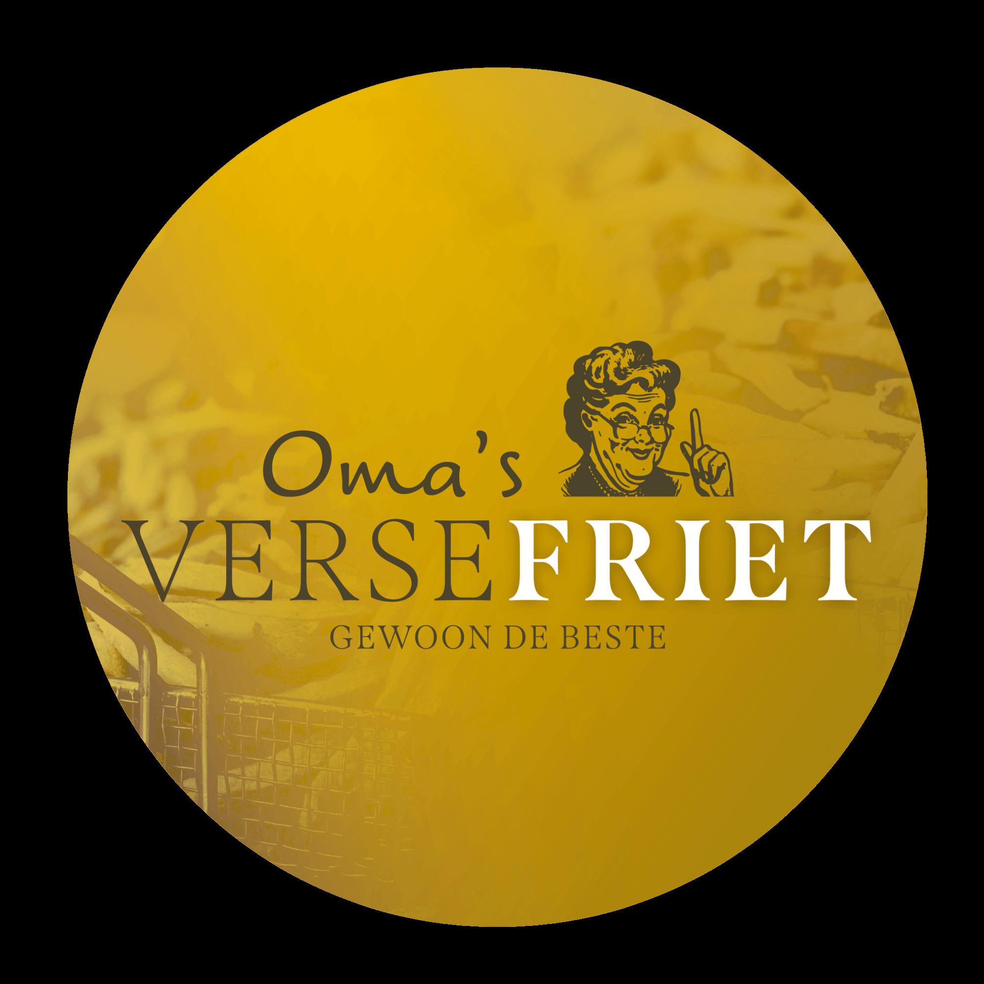 Logo Oma's Friet